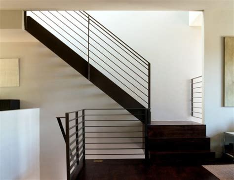 modern stair banisters modern handrails adding contemporary style to your home s