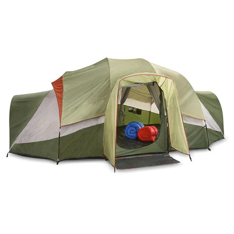 swiss gear 174 3 room 18x10 st bernhard dome tent