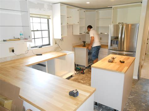 Installation Kitchen Cabinets Cost To Install Kitchen Cabinets And Countertops Mf Cabinets