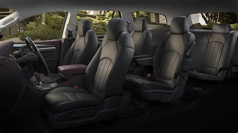 how many people can you seat at a 46 inch round new buick enclave the most popular suv of the brand now