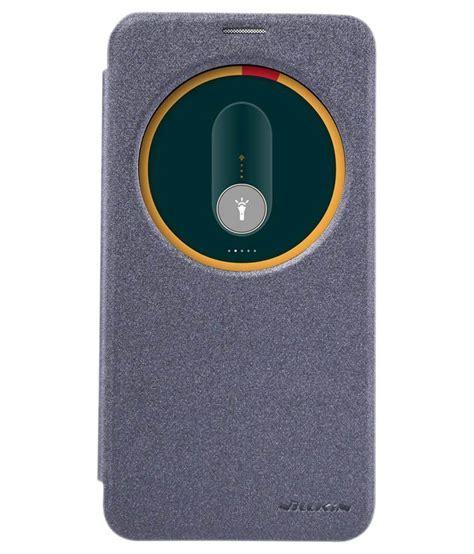 Zenfone 2 5 5inch Flip Cover nillkin sparkle circle window flip cover for zenfone