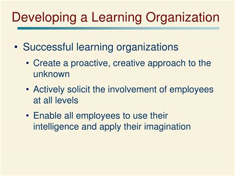 strategic leadership creating a learning organization and an ethical organization chapter ppt ppt chapter 11 powerpoint presentation id 396995