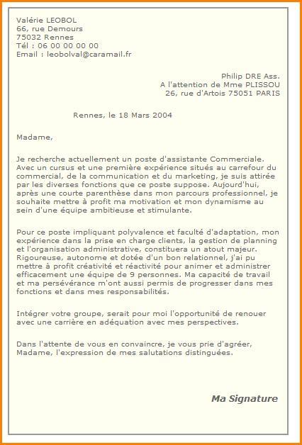 Exemple De Lettre De Motivation Gratuite Pdf modele lettre de motivation gratuite candidature spontan 233 e pdf
