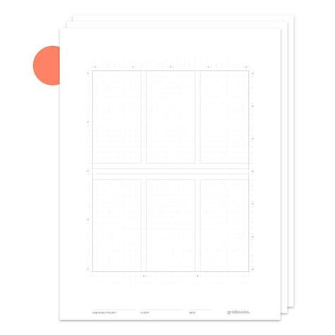 sketchbook pro grid template spiral notebook graph paper mobile sheets gridbooks