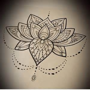 Lotus Design 25 Best Ideas About Half Mandala On