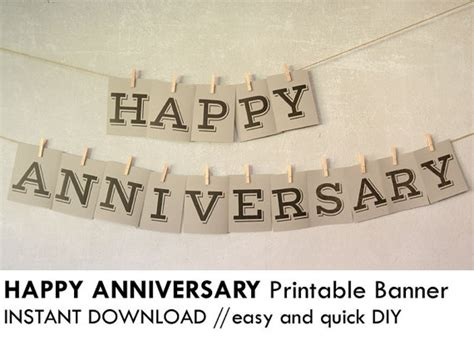 printable happy anniversary banner unavailable listing on etsy