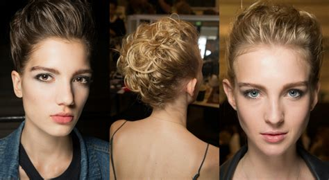 armani haircut armani priv 233 wild updo hairstyles couture 2017 fall winter