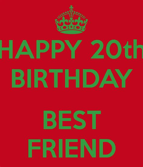 20th Birthday Quotes For Friends 20th Birthday Quotes For Friends Quotesgram