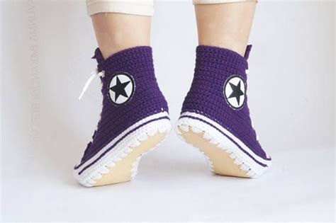 converse house slippers 25 best ideas about converse slippers on pinterest crochet converse diy general