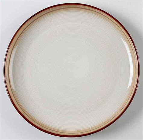 Dinner Plate Medallion Produk Sango sango jetta brown dinner plate 9925637 ebay
