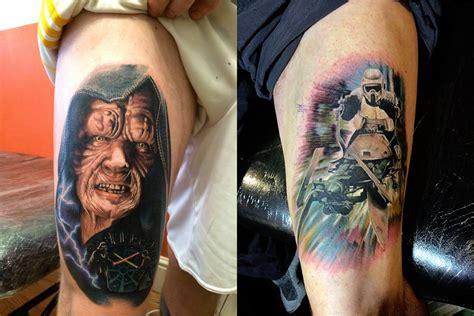 Wars Tattoos 15 wars themed tattoos scene360