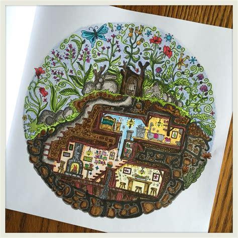 secret garden colouring book pens or pencils 438 best color book secret garden johanna basford images
