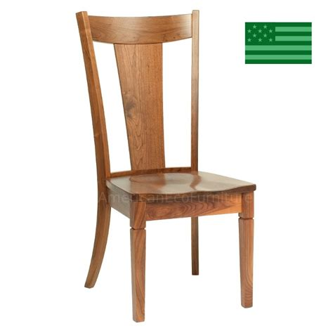 dining room chairs made in usa amish solid wood heirloom furniture made in usa portland