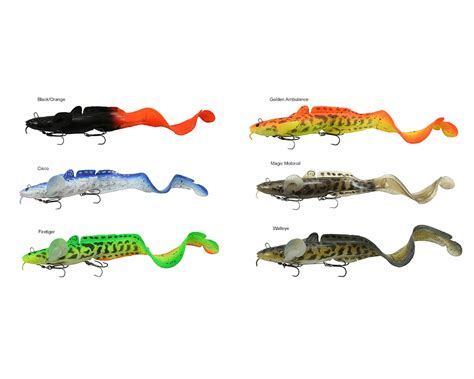 Best Color Combos savage gear 3d burbot tail bait 14in tackledirect