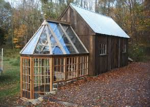 Mini Shed House by This Tiny Barn Greenhouse Would Make A Tiny House