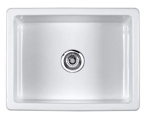 Rohl Kitchen Sink Rohl Shaws Fireclay Single Bowl Kitchen Sink Um2318wh