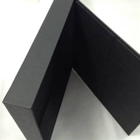 Wedding Invitations Black Paper by Black Paper Wedding Invitation Box Hinged Lid Handmade