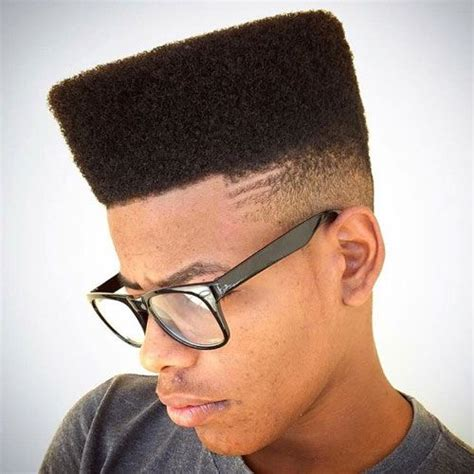 picture of semi flatop tapered afro haircut 25 awesome high top fade styles