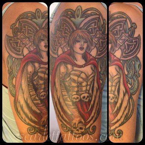 tattoo garden angel scarlet tattoos la nyc