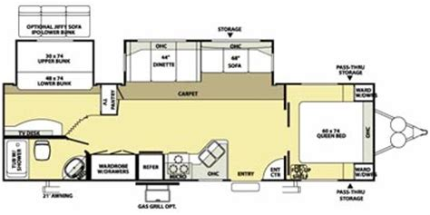 2006 salem travel trailer floor plans 2006 salem travel trailer floor plans 28 images 2006