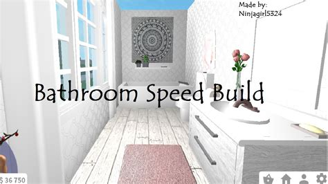 welcome to the bathtub welcome to bloxburg bathroom speed build doovi
