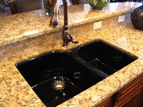 black kitchen sink an irresistible elegance