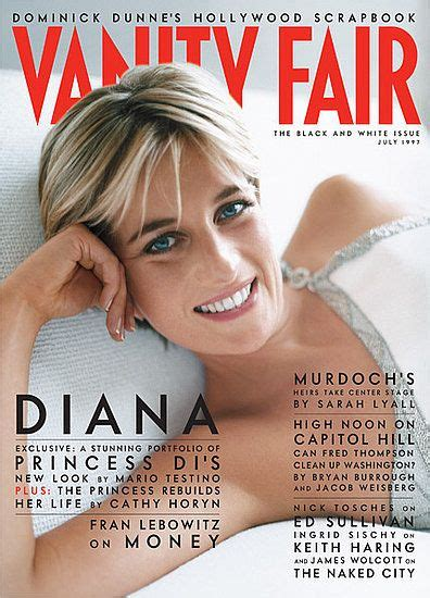 Diana Vanity Fair by Princess Diana Vanity Fair Memorable Magazine Covers