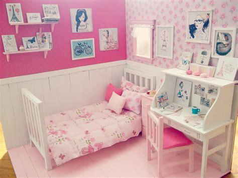 doll bedroom bedroom doll ooak diorama day in paris