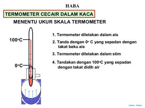 Termometer Kaca 30 haba