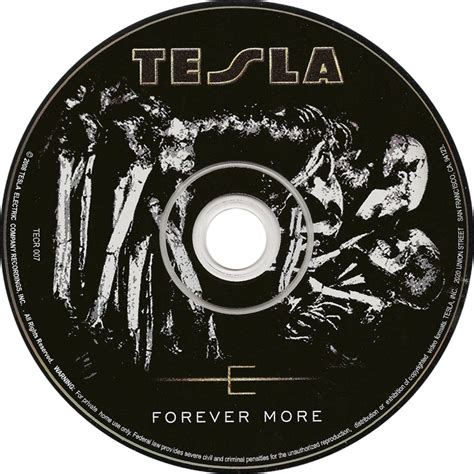 Tesla New Cd Car 225 Tula Cd De Tesla Forever More Portada