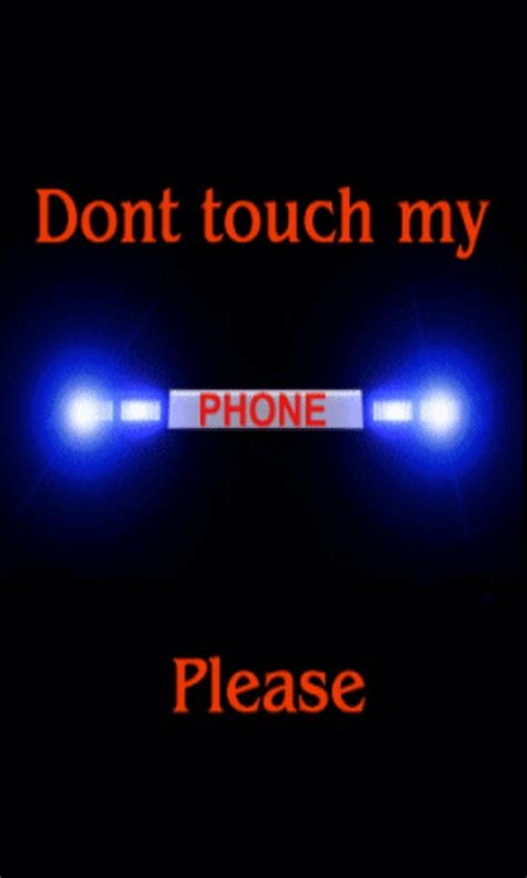 Dont Touch My Phone Live Wallpaper free dont touch my phone live wallpaper apk for