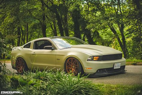 stanced muscle cars pick of the day 775 hp stanced mustang ebeasts com