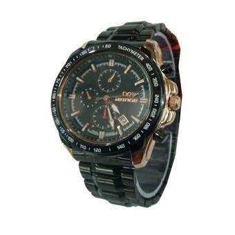 Jam Tangan Mirage Black Gold harga mirage mg332 jam tangan pria hitam rosegold black stainless pricenia