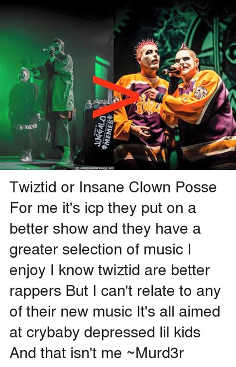 Insane Clown Posse Memes - funny twiztid memes of 2016 on sizzle emo