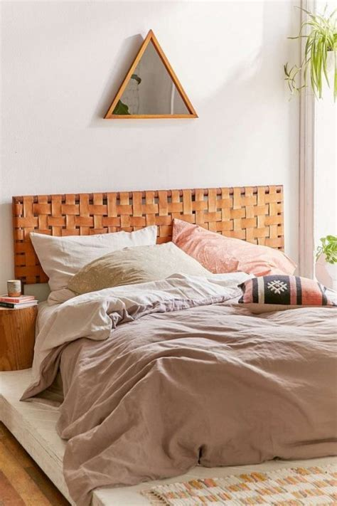 Woven Leather Headboard 25 Coolest Upholstered Headboard Ideas Comfydwelling