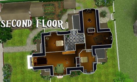 Victorian Homes Floor Plans mod the sims the carroll merchant mansion