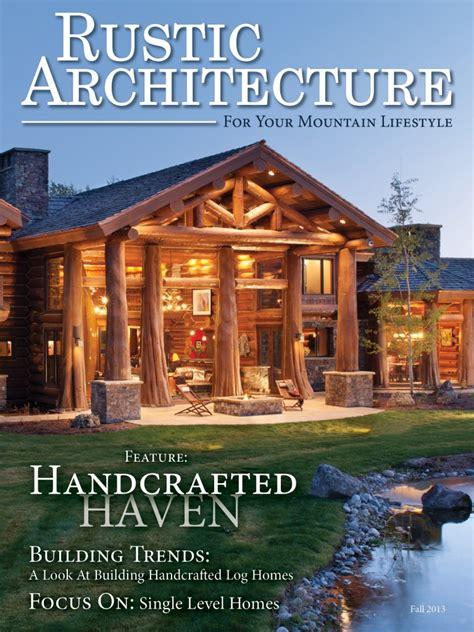 Rustic Home Decor Magazines Collection Of Log Home Plans The Log Home Floor Plan