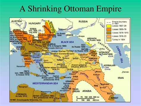 after the war ottoman lands were divided into ppt forming empires powerpoint presentation id 3966984