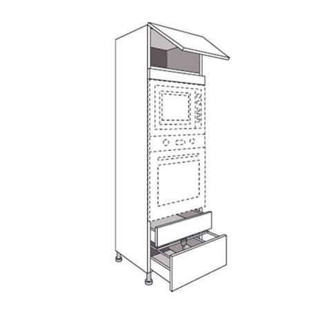 four pour cuisine 駲uip馥 colonne de cuisine pour four et niche de h 45 cm origine
