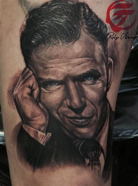 roly tattoo quilmes instagram frank sinatra by roly viruez tattoonow