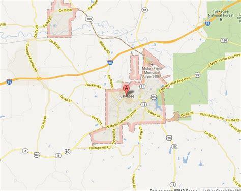 map of tuskegee alabama 22 fantastic tuskegee alabama map afputra
