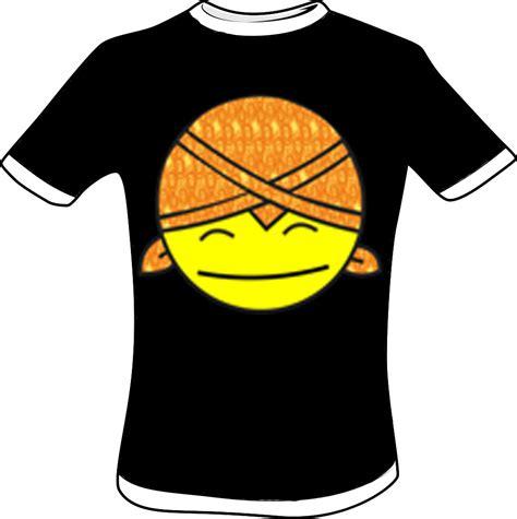 T Shirt Birds Hitam al ma ruf design
