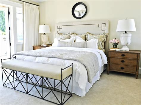 how to make a beautiful bed designer tricks for living large in a small bedroom hgtv