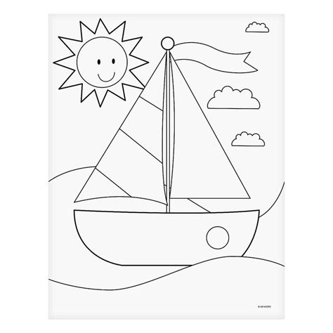 simple boat template 21 best images about row row row your boat on