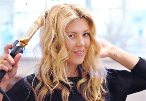 curling hair hair tutorial video perfect curls love maegan