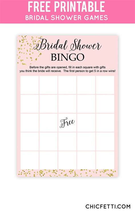 Free Printable Bridal Shower Gift Bingo Cards - 25 best ideas about bridal shower bingo on pinterest dream bingo free bridal