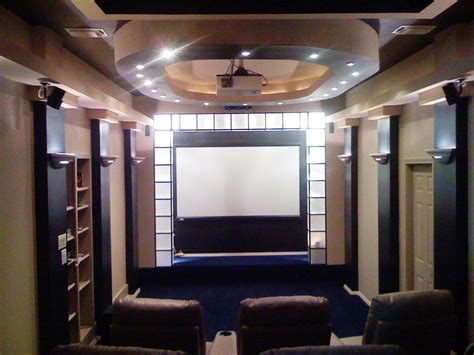 Garage Theater by 10 Masculine And Sports Themed Home Theaters Home