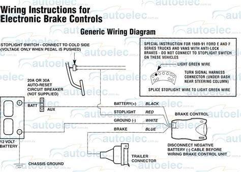 tekonsha voyager wire diagram 1991 chevy diagram auto