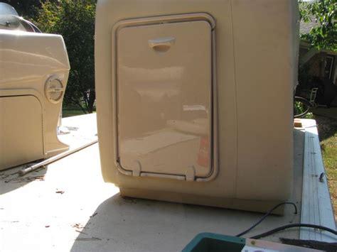 trash can for a boat harris kayot beige waste basket storage hatch door garbage