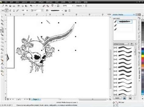 pattern wood corel draw download secrets of coreldraw brush designs pt 1 how to use